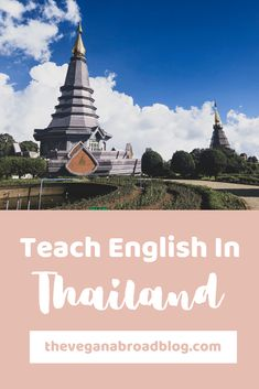 Thailand is arguably one of the best and easiest countries to teach English. I spent one year teaching English in Chiang Mai, Thailand, and it was an incredible experience. This post goes in depth about my experience and answers questions that you may have. #teachenglishinthailand #thailand #chiangmai #teachenglishabroad #teachenglish