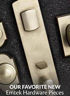 Check out the full article at https://builderssurplus.us/cabinet-hardware/our-favorite-new-emtek-hardware-pieces/! Builders Surplus is a home improvement and remodeling retailer that also offers free design services and installation services. We're located in Louisville, Kentucky and Newport, Kentucky, also serving Cincinnati Ohio.
