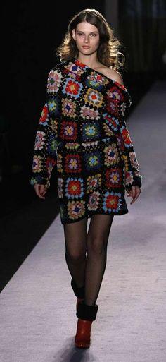 Celebrity e fashion all'uncinetto (Foto 21/40) | PourFemme