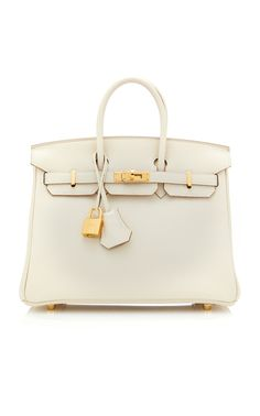 4e74dbf9947e Rosaire « Beaubourg » Genuine Cowhide Full Grain Leather Top Handle Bag  Padlock in Taupe Gold   15881 in 2019