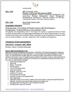 Over 10000 CV and Resume Samples with Free Download: Best Resume ...