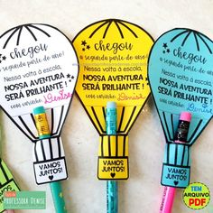 English Activities, Preschool Activities, First Day School, Back To School, Classroom Board, Pencil Toppers, Rainbow Theme, School Gifts, Kids Education