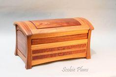 DYI - Woodworking Plans  - SCOBIE PLANS  - Document Box