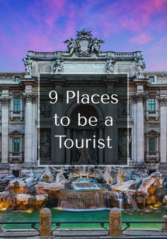 We're going to come out and say it: There are certain iconic spots that you have to visit at least once in your life (even if it means embracing the iPhone-wielding, so-not-local/artisanal/authentic side of yourself). Here, the nine that top our list.