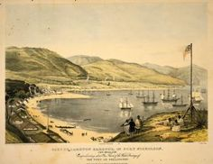 Part of Lambton Harbour, in Port Nicholson, New Zealand. - Collections Online - Museum of New Zealand Te Papa Tongarewa Nz History, Colonial Art, Nz Art, Contemporary Artwork, Landscape Paintings, Landscapes, New Zealand, Paris Skyline, Museum