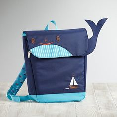 Teacher's Pet Backpack (Whale)  | The Land of Nod