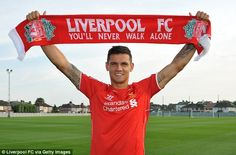 Familiar: Lovren could make his competitive debut against Southampton on August 17