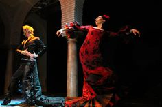 Pasarela de Moda Pepa Castro en el Museo del Baile Flamenco de Cristina Hoyos