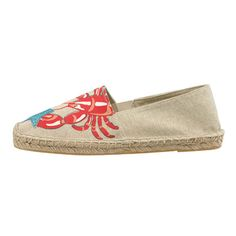 Lob-Star Embroidered Espadrilles