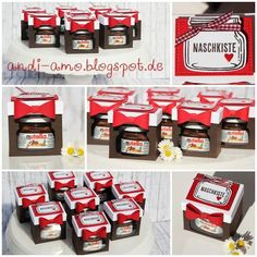andi-amo: Nutella in der Box Easy Nutella Brownies, Nutella Crepes, Nutella Cheesecake, Birthday Box, Friend Birthday Gifts, Mini Nutella Glas, Nutella Gifts, Boite Explosive, Nutella French Toast