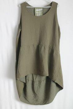 cocon.commerz PRIVATSACHEN ANGEMESSENELKE Tunika aus FLORASTEPP in grün Gr. 2   PRIVATSACHEN ...........seide silk leinen linen ecotton sustainable clothes since 30 years ......best of,,,,,,,,,handgefärbt aus hamburg
