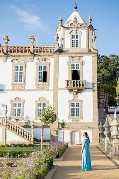 Jennifer Lake Style Charade in a By Malene Birger maxi dress and Chloe Nile bracelet bag at Pestana Palácio do Freixio in Porto Portugal Travel Images, Travel Pictures, Chloe Nile Bag, What To Pack For Vacation, Portugal, Vacation Packing, Malene Birger, Love Her Style, The Girl Who