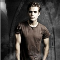 "Paul Wesley-""Stefan Salvatore"" The Vampire Diaries. I want to be a vampire! San Francisco California, Stefan Salvatore, Paul Wesley, Vampire Diaries The Originals, Hot Boys, Photo Editor, Favorite Tv Shows, Movies And Tv Shows, Movie Tv"