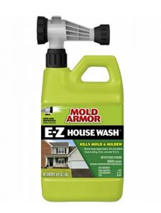 Mold Armor oz House and Siding Outdoor Cleaner at Lowe's. It& like pressure cleaning with your garden hose! Mold Armor& e-z house wash quickly and easily removes dirt and exterior stains caused by Clean Siding, Brick Siding, Cleaning Mold, Cleaning Supplies, Cleaning Tips, Cleaning Vinyl Siding, Mold And Mildew Remover, Urine Remover, Deck Cleaner