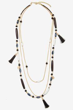 Priscilla Beaded Necklace