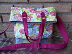 Amber Fold Over Bag - Swoon Sewing Patterns