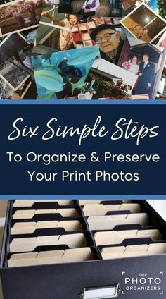 Peace at Last: Six Simple Steps to Organize and Preserve Your Print Photos Peace At Last, Picture Storage, Best Photo Storage, Foto Fun, Old Family Photos, Photo Memories, Photo Projects, Thing 1, Storage Organization