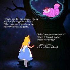 Alice In Wonderland Meaning, Alice In Wonderland Aesthetic, Alice And Wonderland Tattoos, Alice In Wonderland Decorations, Alice In Wonderland Party, Adventures In Wonderland, Alice Quotes, Disney Quotes, Book Quotes