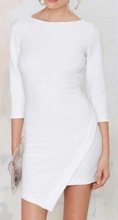Slippery Slope Knit Dress