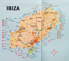 Ibiza Karte Ibiza Travel, Ibiza Beach, Spain Travel, Menorca, Ibiza Eivissa, Ibiza Formentera, San Antonio Ibiza, San Antonio Hotels, Spain
