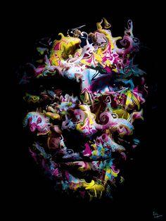 Contemporary Art - Paper Photo Metallic - Limited Edition 30ex - 60x80cm