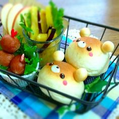 Bear basket lunch ♥ Bento