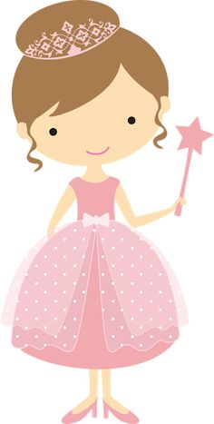 i'm a princess. Cute Clipart, Cute Images, Print And Cut, Paper Dolls, Fairy Tales, Little Girls, Hello Kitty, Applique, Creations