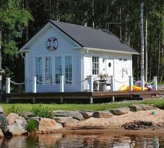 Love, love, love!  Tiny House Love -13 Small Coastal Cottages by the Sea