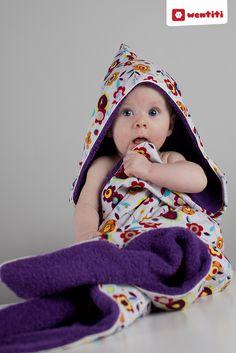 tutorial baby badhanddoek met capuchon en paspel