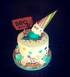 Summer themed Cake