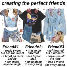 pick a friend niche meme Vintage Glam, Aesthetic Fashion, Aesthetic Clothes, Aesthetic Memes, Aries Aesthetic, Grunge Outfits, Fashion Outfits, Best Friends Aesthetic, Teen Trends