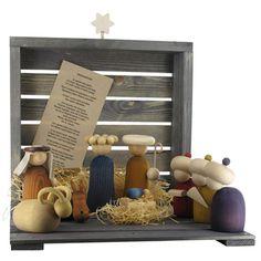 Contemporary Nativity set