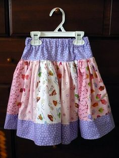 Girly Stripwork Skirt from Pink Fig