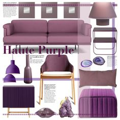 """Haute Purple"" by reddotdaily on Polyvore"
