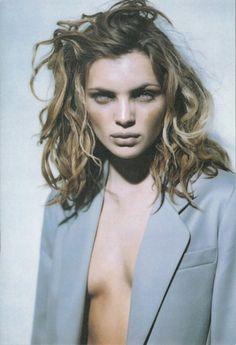 Anna Molinari F/W 1997 Ad Campaign by Paolo Roversi Esther Cañadas