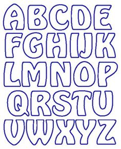 applique letter templates free - Google Search