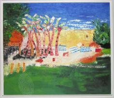 Shelly Beach by Raewyn Carboni   Oil on Belgian linen, back wire,varnished   Abstract Impressionism Nature   $1,275   Bluethumb - Online Art Gallery