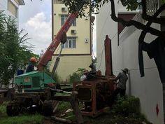 Ép cọc bê tông tại Huyện Thường Tín thi công bằng loại máy nào?