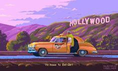 Artista recrea series y películas en 16-Bits y son perfectas