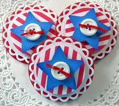 Embellishments  *use maple leaf for Canada Day