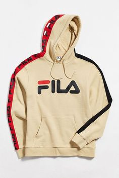 e256548e851d Slide View  2  FILA Fifty-Fifty Hoodie Sweatshirt Urban Fashion Girls