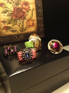 Sweet Talk Collection by GVoreo Class Ring, Bracelet Watch, Bracelets, Sweet, Rings, Accessories, Collection, Jewelry, Candy