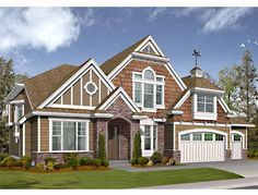 Craftsman House Plan with 4630 Square Feet and 5 Bedrooms(s) from Dream Home Source | House Plan Code DHSW64124