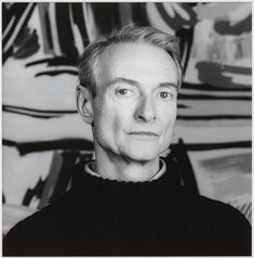 robert mapplethorpe(1946-89), roy lichtenstein, 1985, printed 1990. photograph on paper, 61 x 50.8 cm. tate gallery, london, uk http://www.tate.org.uk/art/artworks/mapplethorpe-roy-lichtenstein-ar00217