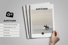JUPITHER lookbook / magazine by fahmie on @Graphicsauthor
