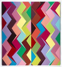 Odili Donald Odita | Paintings | Pinterest | Donald O'connor