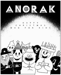 Anorak magazine by Vasilis Raptis Magazine Art, Magazine Covers, Illustration, Christmas, Fictional Characters, Xmas, Illustrations, Weihnachten, Navidad