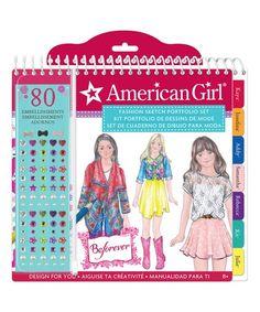 American Girl Crafts American Girl Fashion Sketch Portfolio | zulily