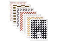Trendy Abwaschtücher mit grafischem Muster von Ferm Living