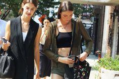 Modelle off-duty http://www.grazia.it/moda/streetstyle/new-york-street-style-fashion-week-sept-2013 #followgrazia